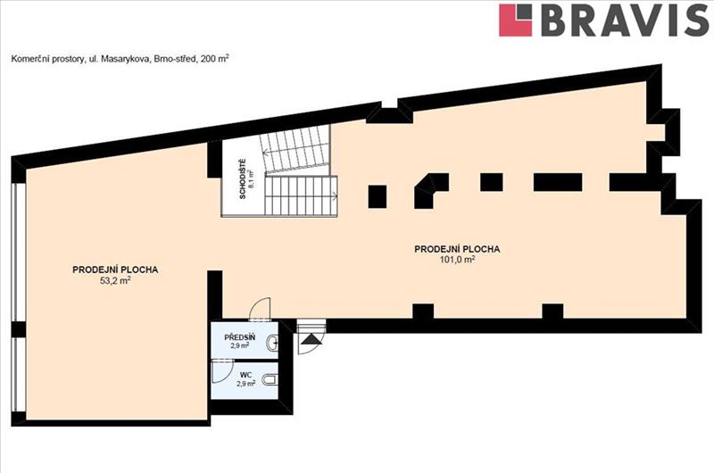 Office and multipurpose premises with expense to let on a